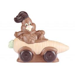 Lapin Enzo 17 cm chocolat...