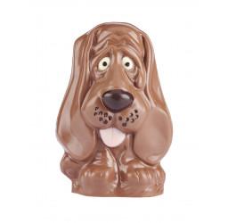 Chien Leny 15 cm chocolat...