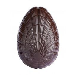 Œuf S garni 9 cm chocolat...