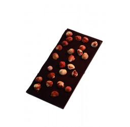 Tablette noisettes 100g noir