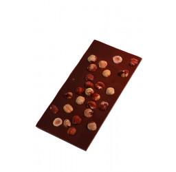 Tablette noisettes 100g lait